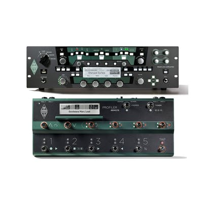 Kemper Profiling Amp PowerRack With Remote Footswitch Set