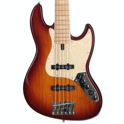 Sire Version 2 Marcus Miller V7 Swamp Ash 5 String Tobacco Sunburst
