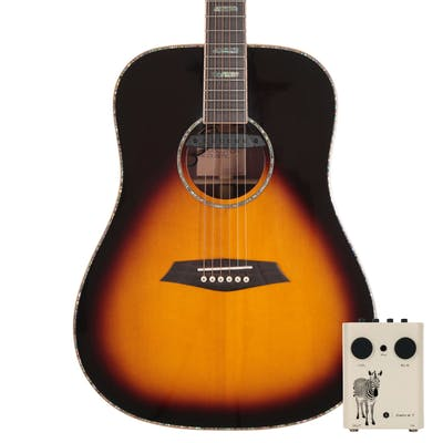 Sire R7 DZ Dreadnought Acoustic Guitar with Outboard Preamp