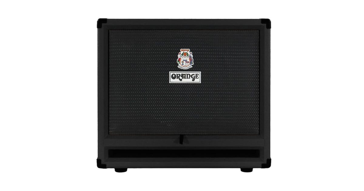Orange Obc212 600 Watts Isobaric 2x12 Bass Cabinet In Black