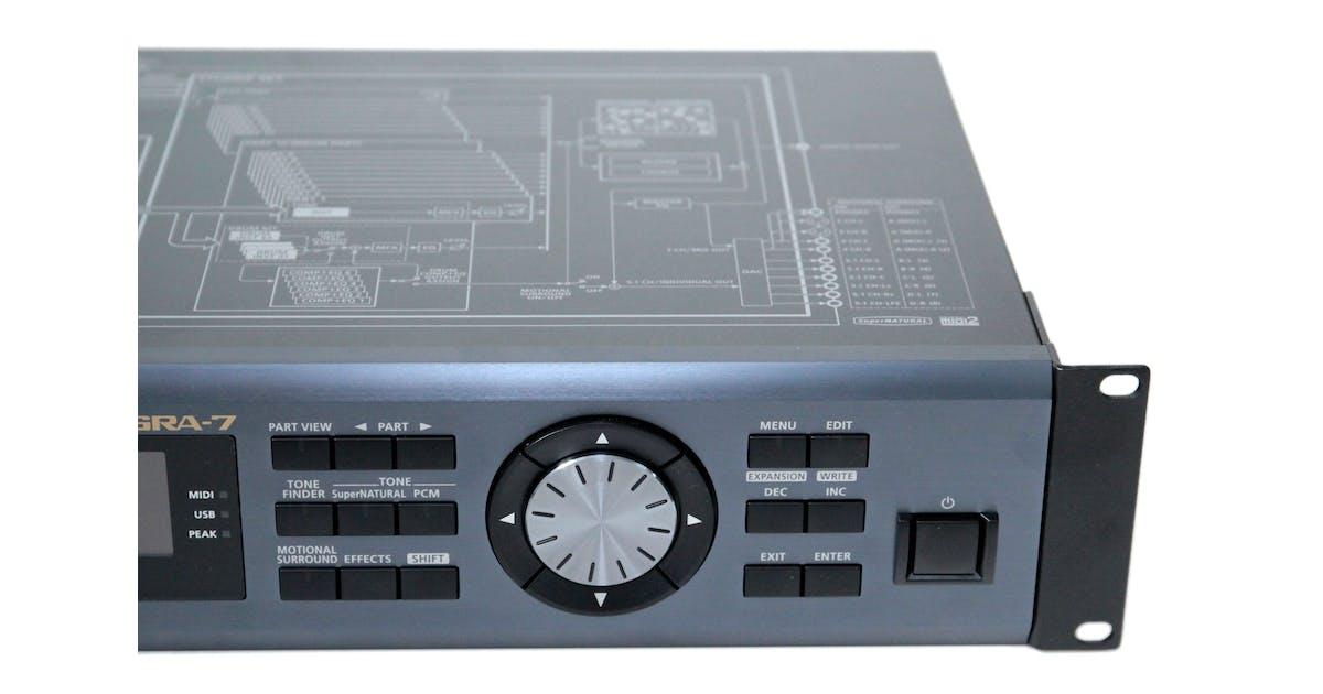 second hand roland integra 7 sound module andertons music co. Black Bedroom Furniture Sets. Home Design Ideas