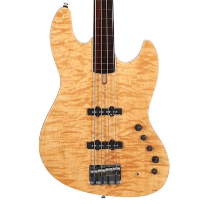 Sire Version 2 Fretless Marcus Miller V9 Swamp Ash 4 String Bass in Natural