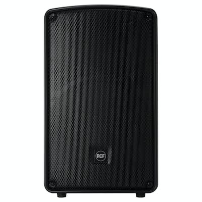 RCF 12-A MK4 PA Pair Speaker Bundle w/ Stands and Cables