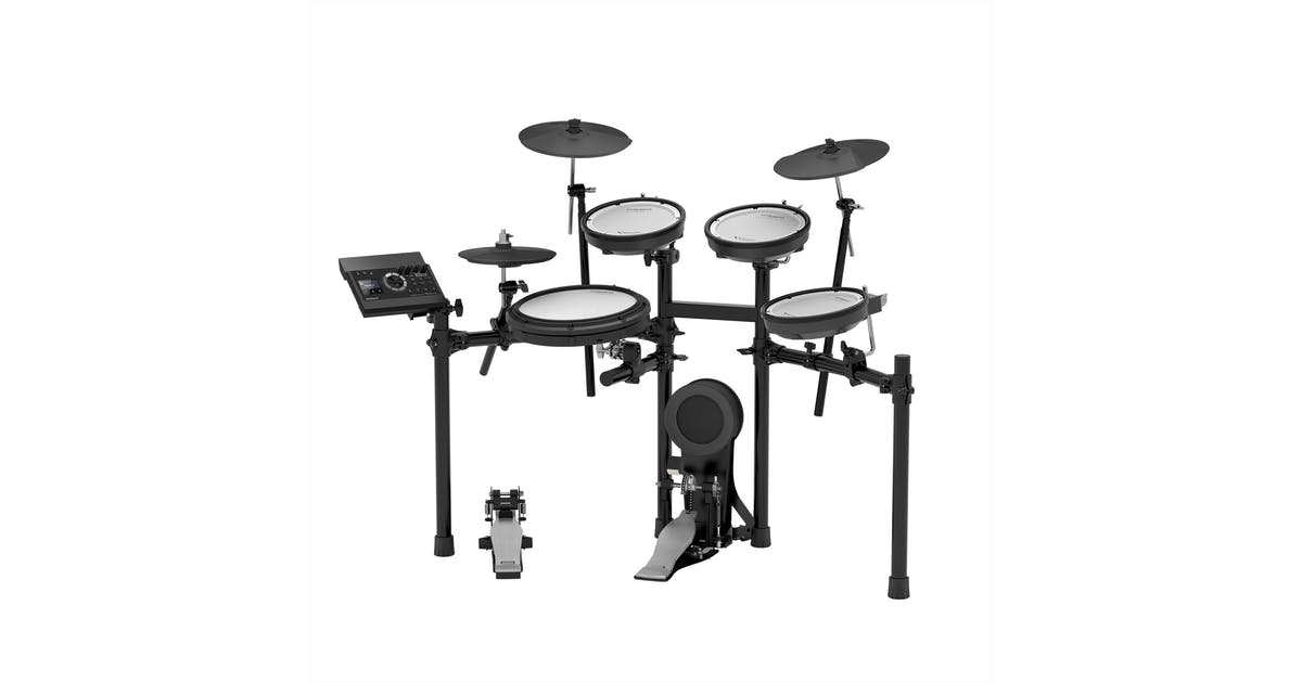 roland td17kv v drums electronic drum kit w accessories bundle andertons music co. Black Bedroom Furniture Sets. Home Design Ideas