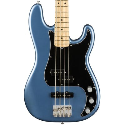 Fender American Performer Precision Bass in Lake Placid Blue