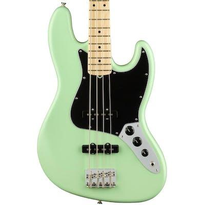 Fender American Performer Jazz Bass in Satin Surf Green