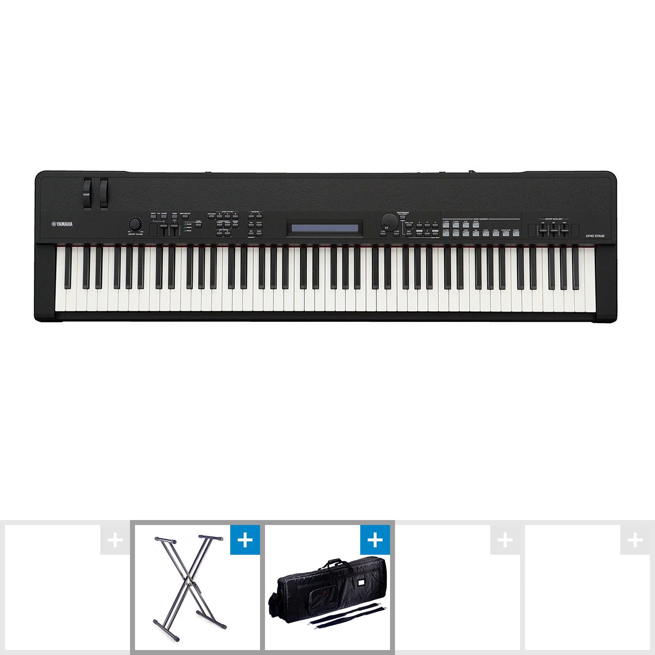 Yamaha CP40 Professional Stage Piano Bundle with Bag and