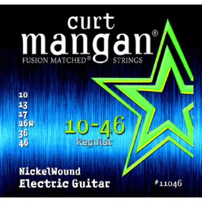 Curt Mangan Strings 10-46 Nickel Wound Electric Guitar Strings