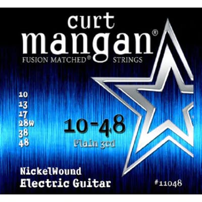 Curt Mangan Strings 10-48 Nickel Wound Set Electric Guitar Strings