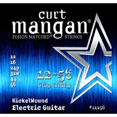 Curt Mangan Strings 12-56 Drop Tuning Nickel Wound Electric Guitar Strings