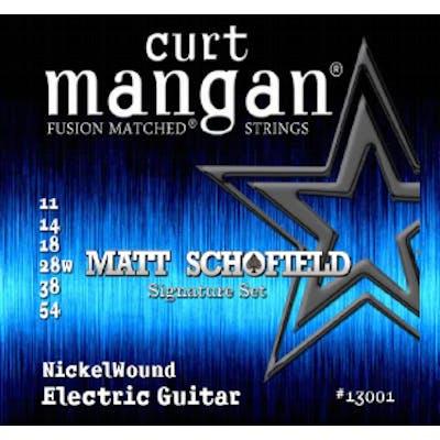 Curt Mangan Strings Matt Schofield 11-54 Signature Electric Guitar Strings