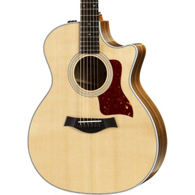 Taylor 414ce 400 Series Ovangkol Grand Auditorium 6-String Cutaway ES2 - V Bracing