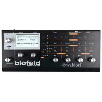 Waldorf Blofeld Synth Module | Limited Edition Black