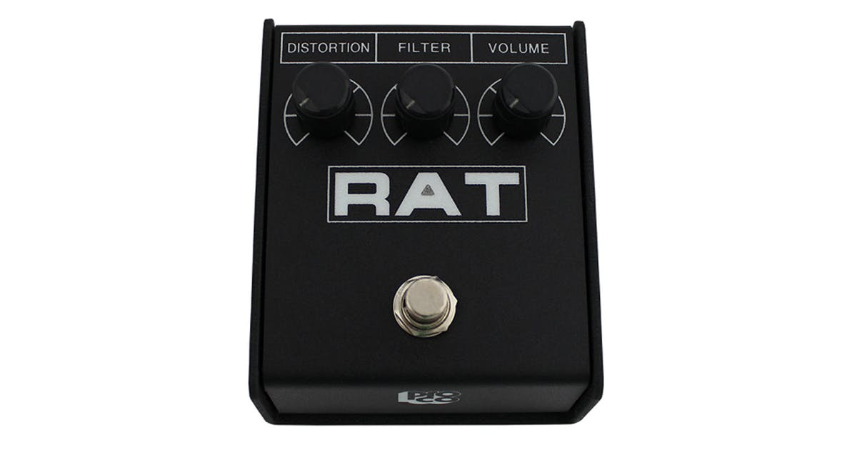 proco rat 2 classic distortion pedal andertons music co. Black Bedroom Furniture Sets. Home Design Ideas