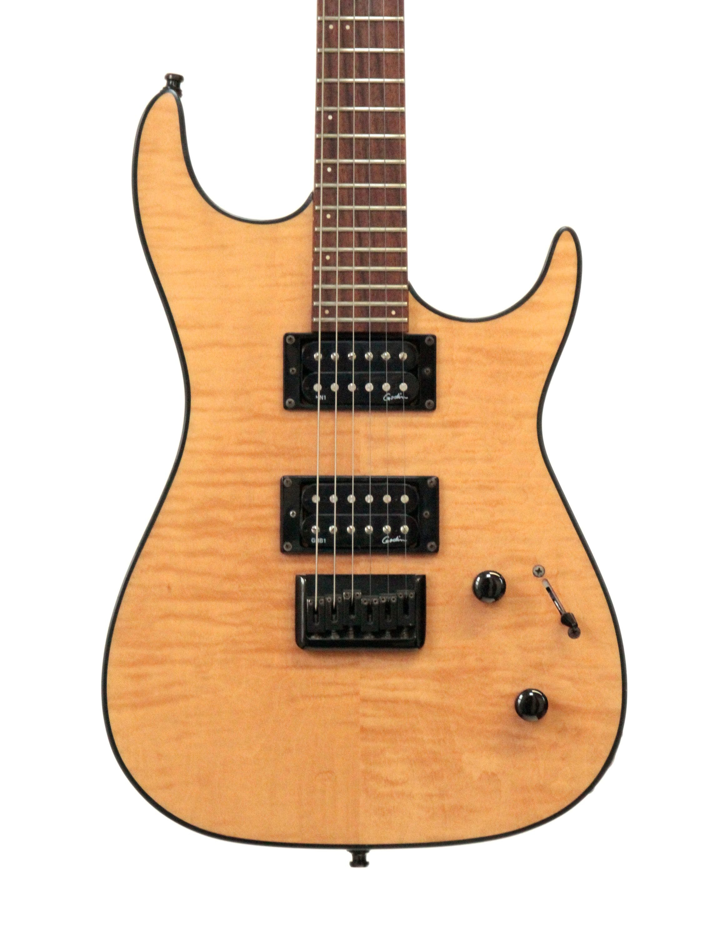 Second Hand Godin Redline Natural HH Electric Guitar - Andertons Music Co.