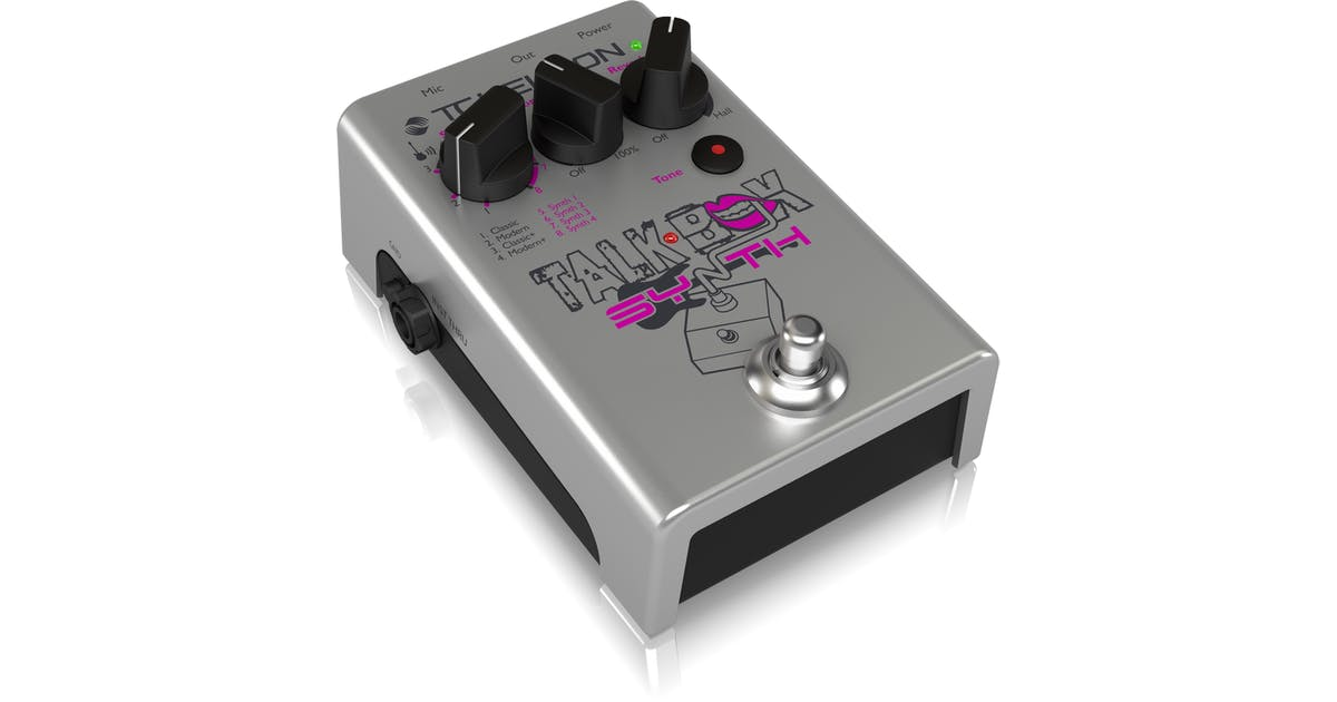 TC Helicon Talkbox Synth Pedal - Andertons Music Co