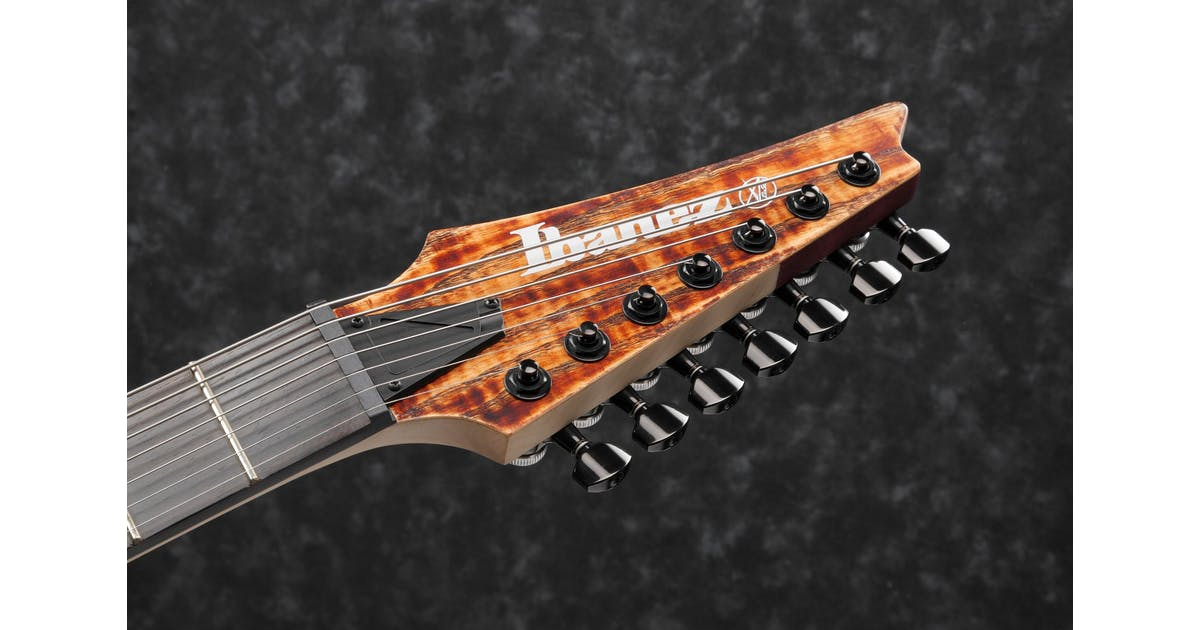 ibanez rgixl7 abl 7 string electric guitar in antique brown stained low gloss andertons music co. Black Bedroom Furniture Sets. Home Design Ideas