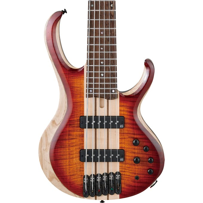 Ibanez BTB20TH6-BTL 20th Anniversary 6 String Bass Guitar In