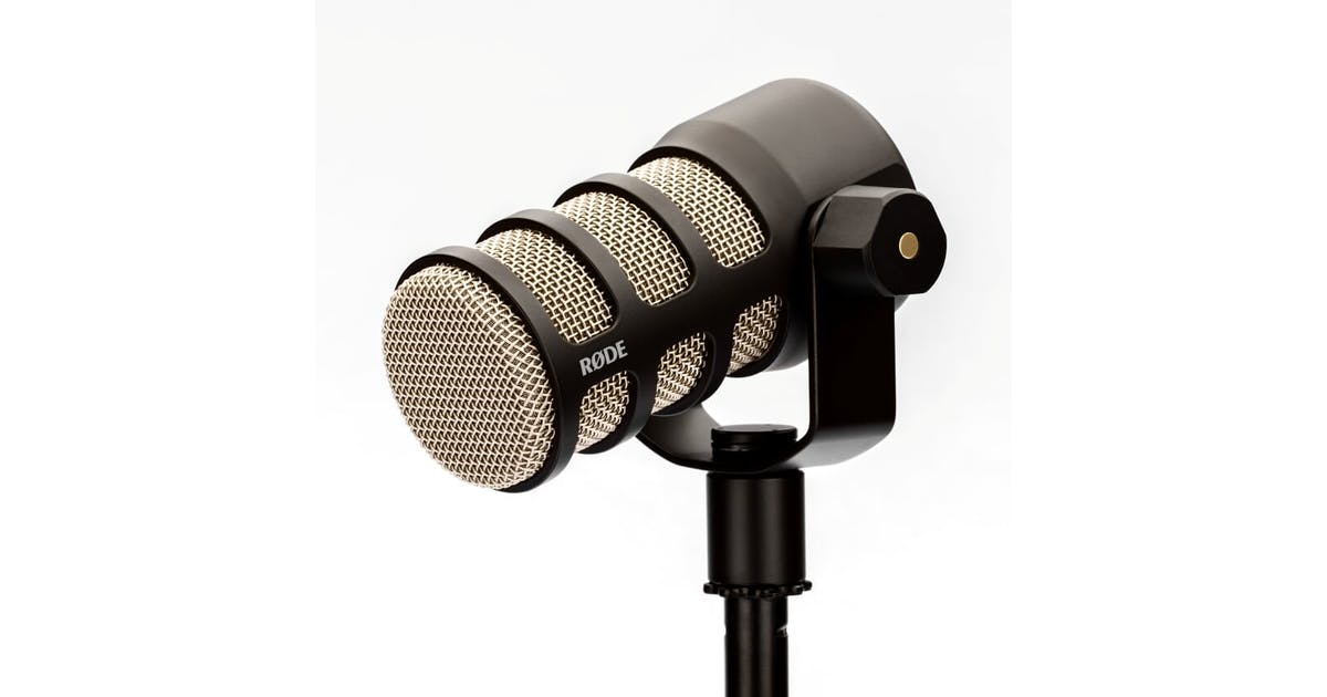 rode podmic dynamic podcasting mic andertons music co. Black Bedroom Furniture Sets. Home Design Ideas