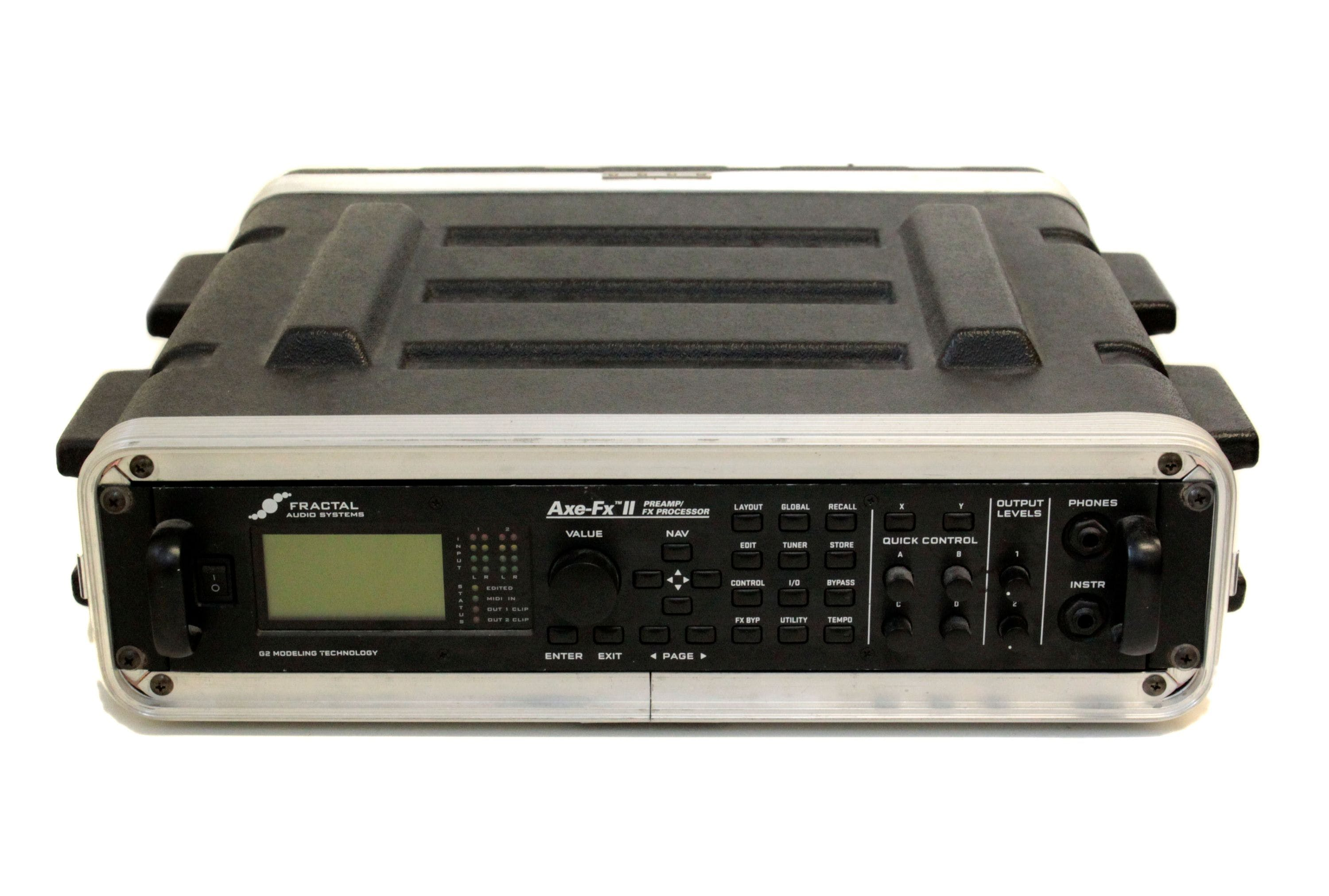 Second Hand Fractal AXE-FX II Preamp/FX Processor - Andertons Music Co