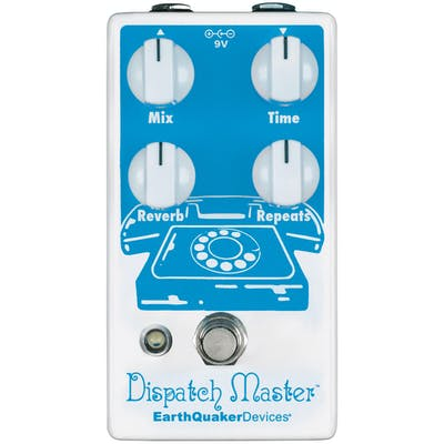 EarthQuaker Devices Dispatch Master V3 Reverb & Delay Pedal