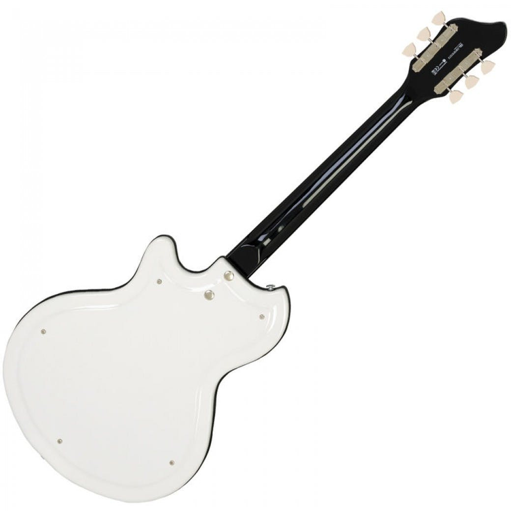Supro Martinique Vibrato Americana Guitar In Ermine White