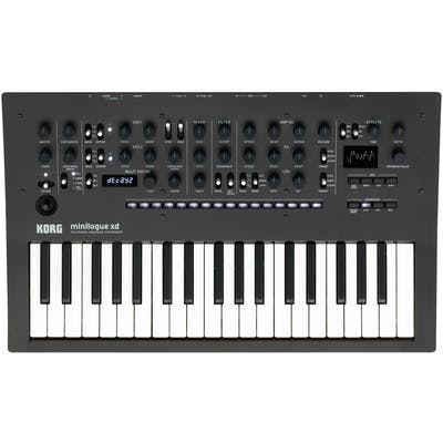 Korg Minilogue XD Polyphonic Analog Synthesizer with Multi-engine, Digital Effects and Step Sequencer