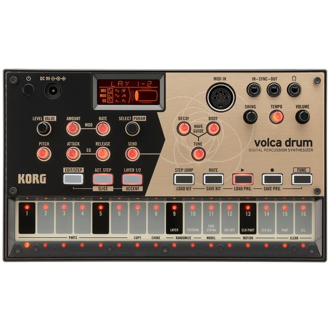Korg Volca Drum Electronic Drum and Percussion Synthesizer - Andertons  Music Co