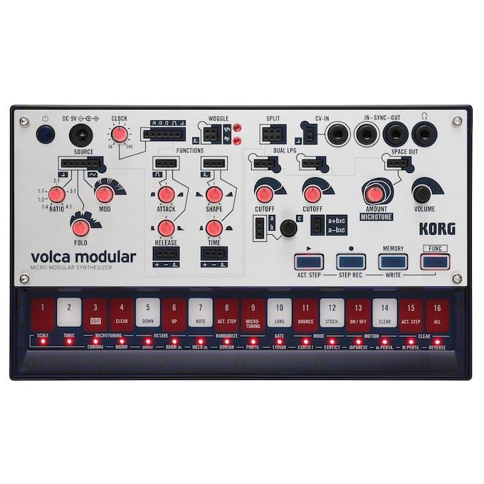 Korg Volca Modular Micro Modular Desktop Synthesizer
