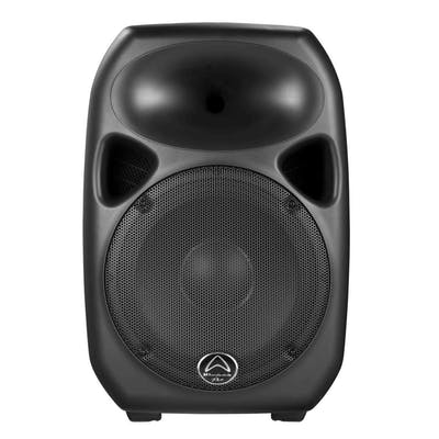 Wharfedale Titan 12D PA Speaker Bundle w/ Speaker Bags, Stands and Cables