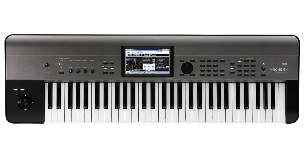 The Best Keyboard Workstation 2019 : korg krome ex 61 key pcm synth workstation andertons music co ~ Hamham.info Haus und Dekorationen