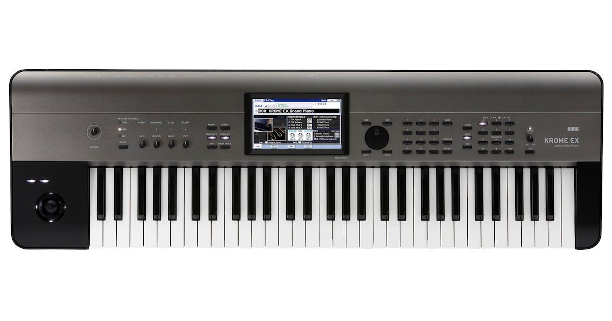 Korg Krome EX 61-Key PCM Synth Workstation - Andertons Music Co