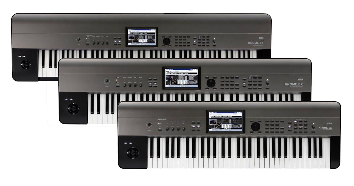 Korg Krome EX 73-Key PCM Synth Workstation - Andertons Music Co
