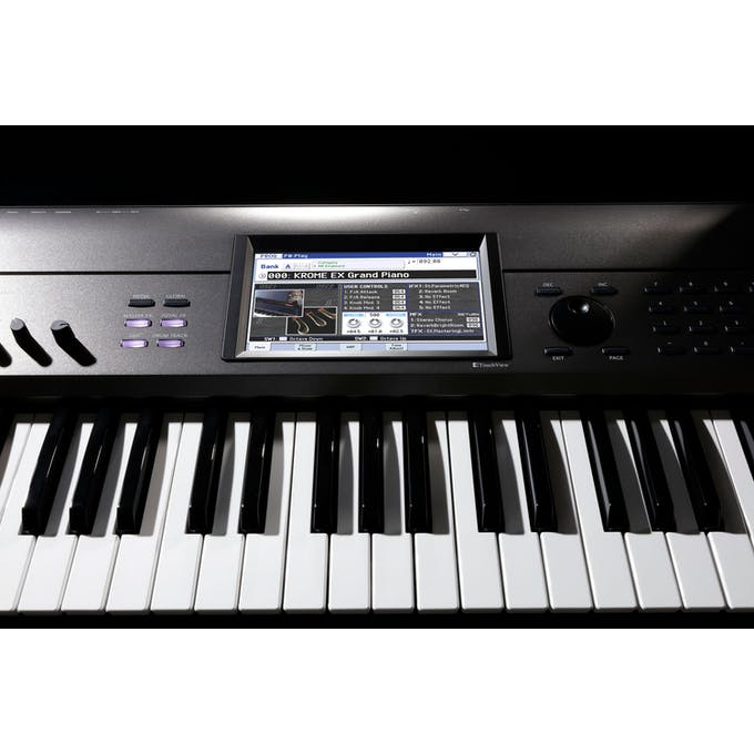 Korg Krome EX 88-Key PCM Synth Workstation - Andertons Music Co