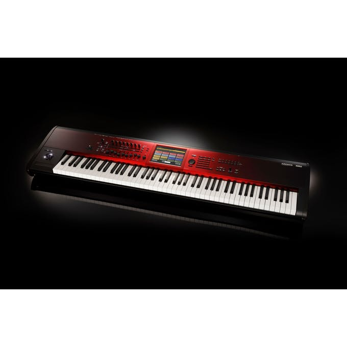 Korg Kronos 2 SE 88-Key Synthesizer & Workstation in Red Graduation Finish  - Andertons Music Co