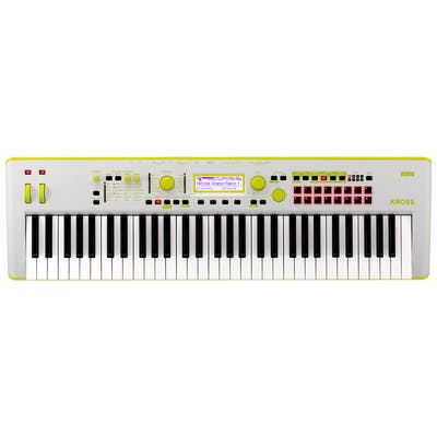 Korg Kross 2 61-key Workstation Limited Edition in Neon Green