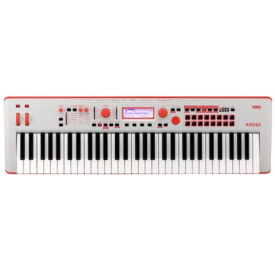 Korg Kross 2 61-key Workstation Limited Edition in Neon Red