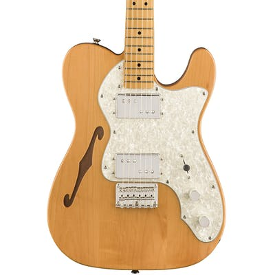 Squier Classic Vibe 70s Telecaster Thinline Maple Fingerboard Natural