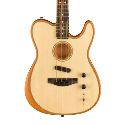 Fender Acoustasonic Tele Acoustic/Electric Guitar in Natural