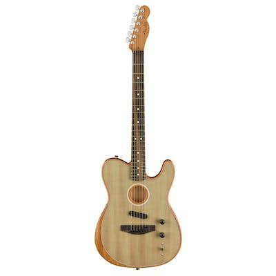 Fender Acoustasonic Tele Acoustic/Electric Guitar in Sonic Gray