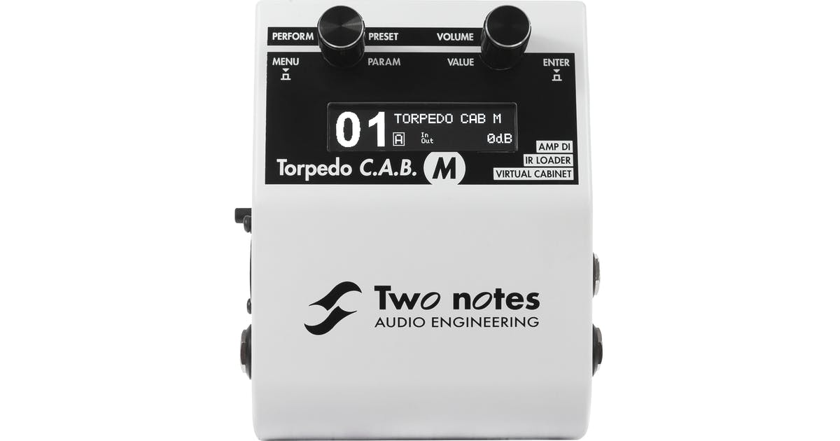 two notes torpedo cab m pedal andertons music co. Black Bedroom Furniture Sets. Home Design Ideas