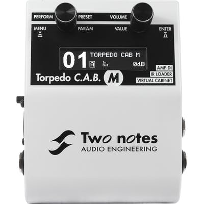 Two Notes Torpedo CAB M Pedal