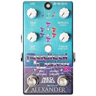 Alexander Pedals Radical Delay DX Pedal