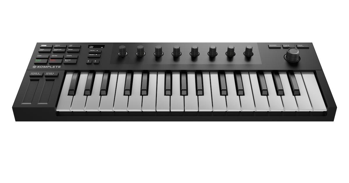native instruments komplete kontrol m32 andertons music co. Black Bedroom Furniture Sets. Home Design Ideas