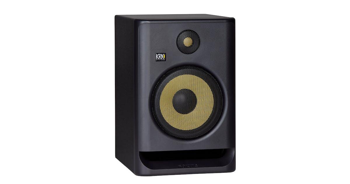 krk rokit rp8 g4 studio monitor in black each andertons music co. Black Bedroom Furniture Sets. Home Design Ideas