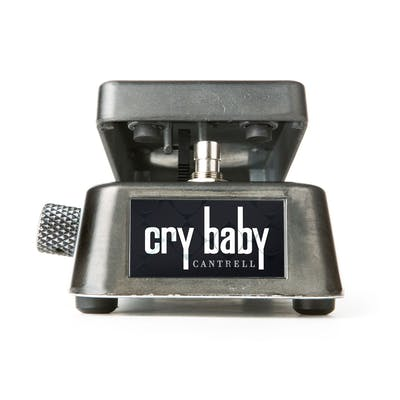 Dunlop Jerry Cantrell Cry Baby Wah Pedal Distressed Black