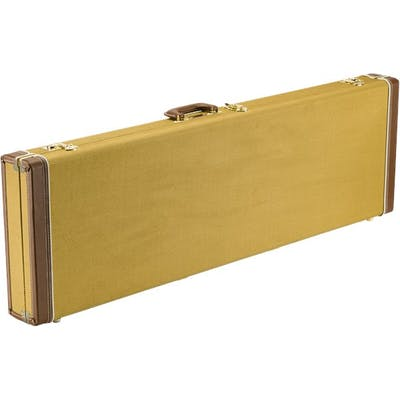 10f3447e0fb Fender Classic Series Wood Case for Precision Bass/Jazz Bass in Tweed