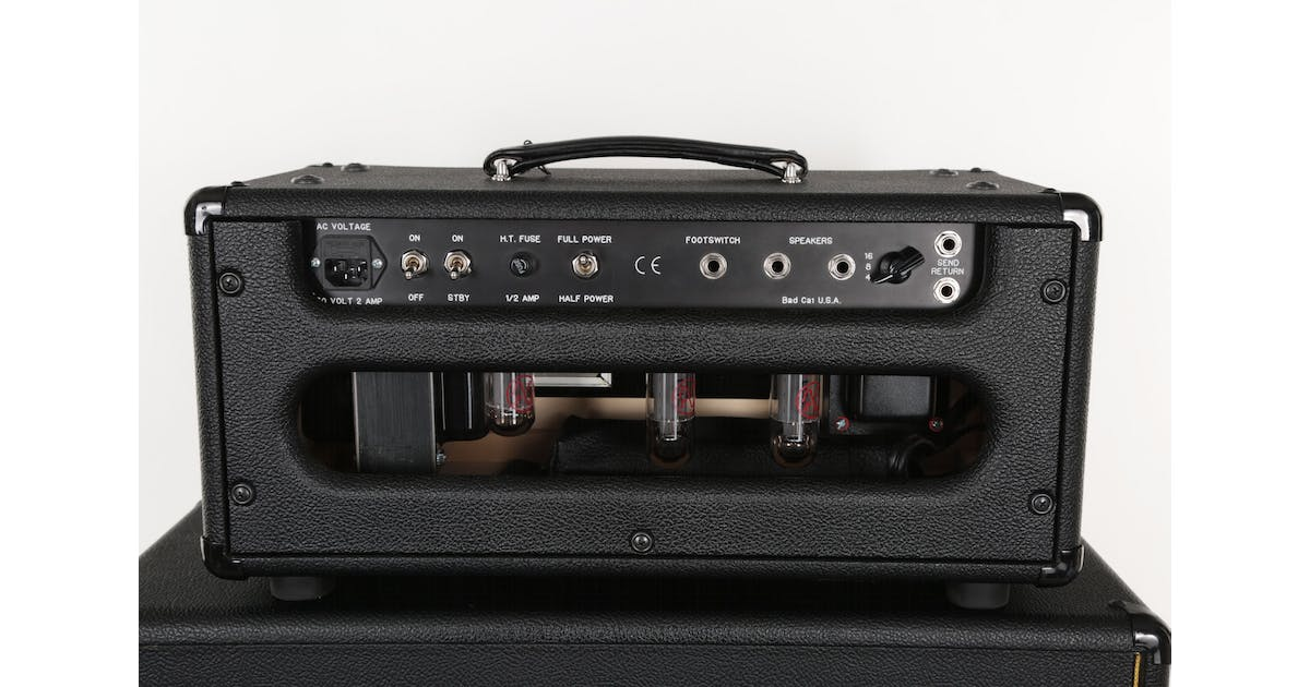 second hand badcat hot cat 30r guitar amp head and 2x12 cab andertons music co. Black Bedroom Furniture Sets. Home Design Ideas