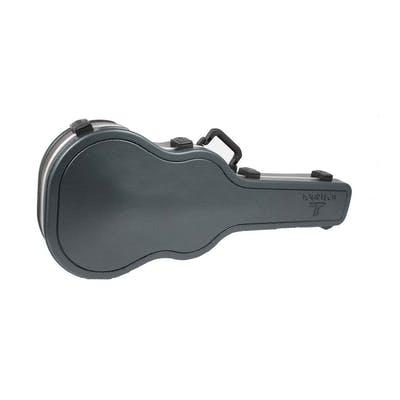 216ea49f15 TOURTECH Pro ABS Acoustic Guitar Case in Double Color Diamond Grain