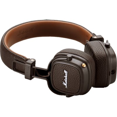 Marshall Lifestyle Major III Bluetooth Headphones in Brown